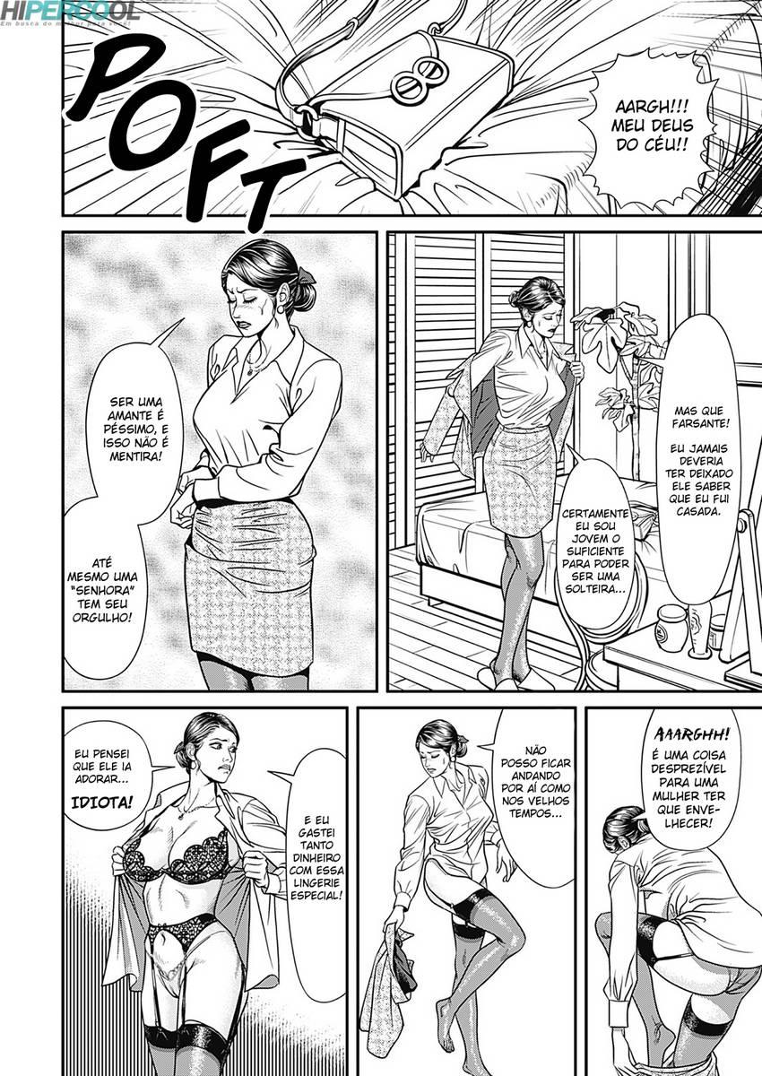 Hentai Caso entre mãe e filho: amante de buceta