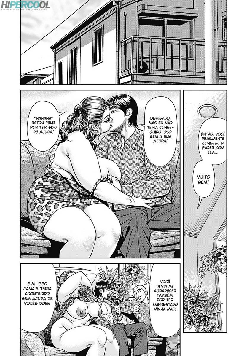 Hentai Comendo o cu da mãe!