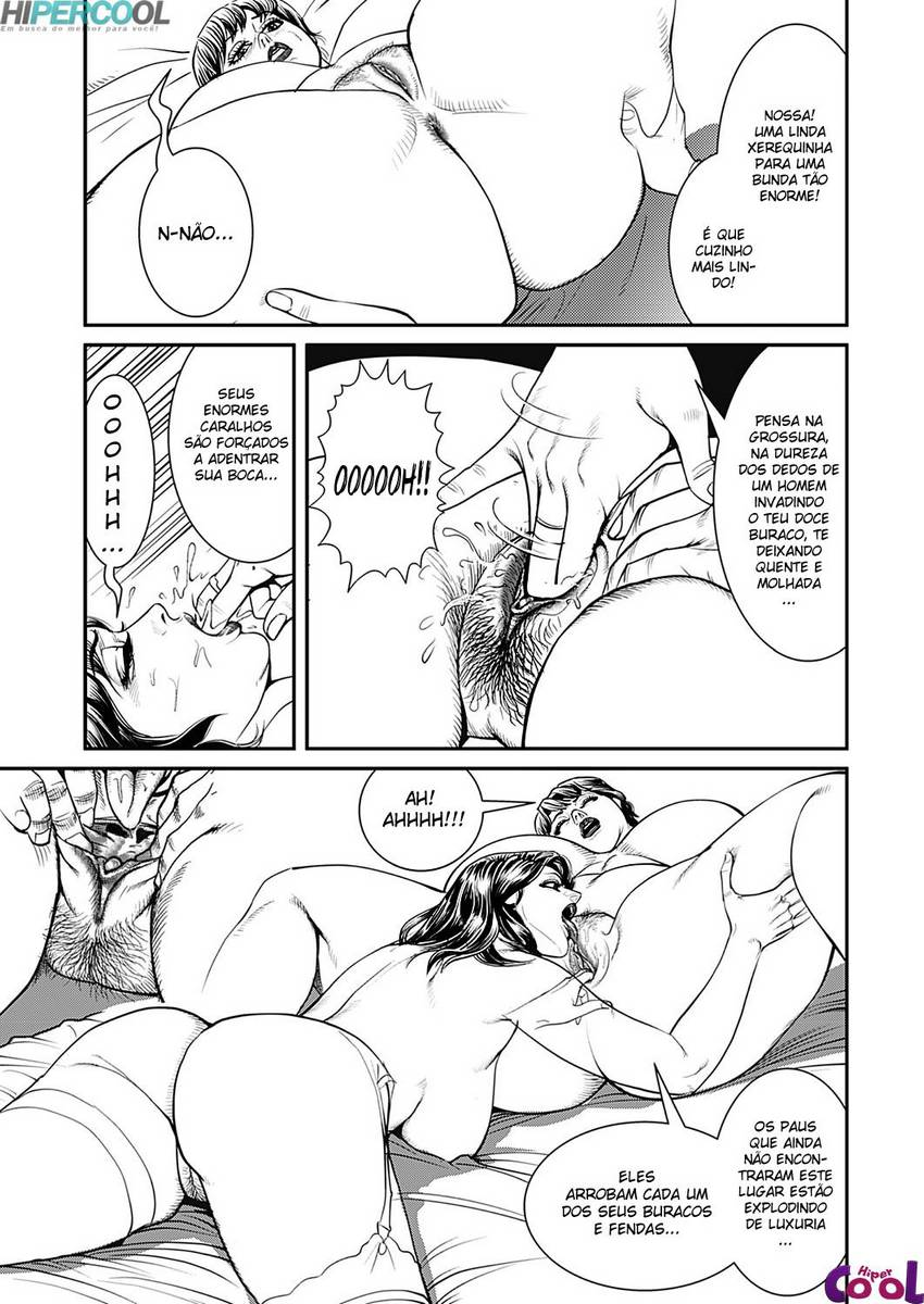 Hentai Um pau enorme faz seu bundão tremer!