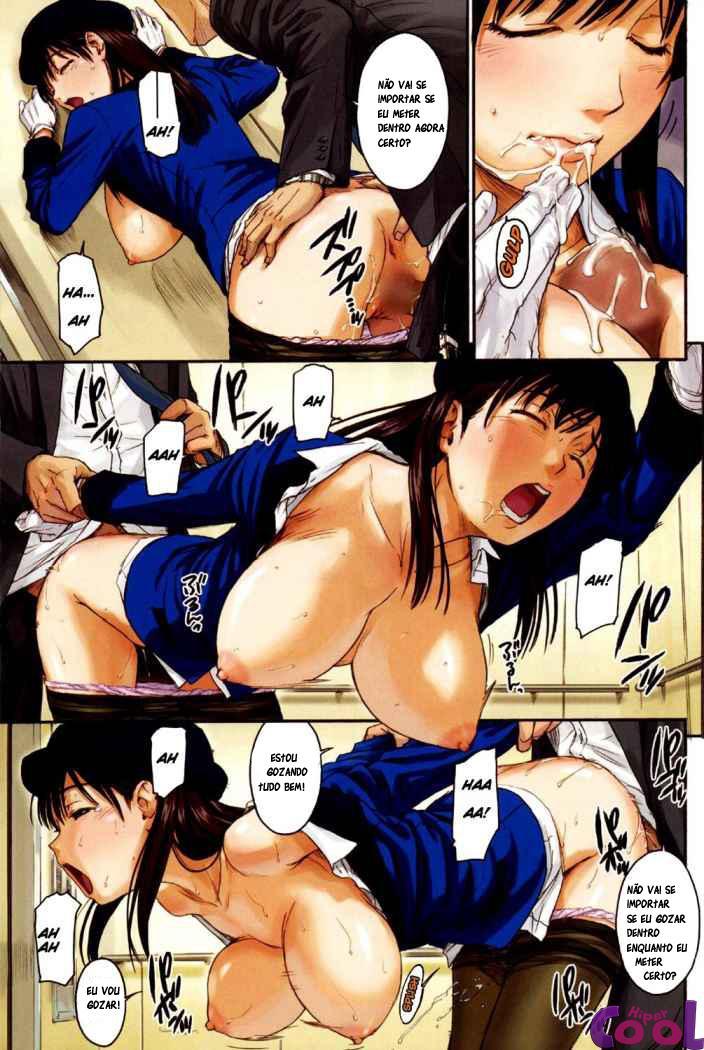 Hentai sexo no elevador