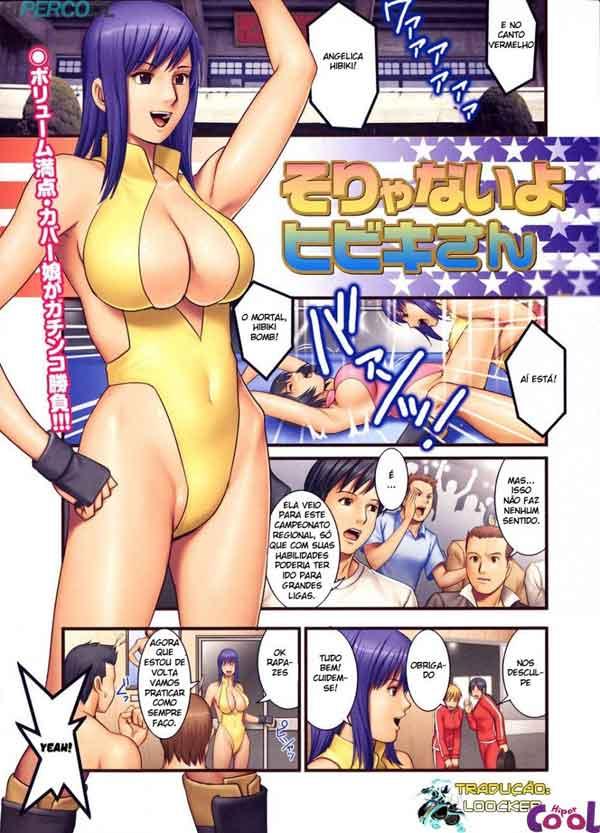 Hentai campeonato de dar o cu