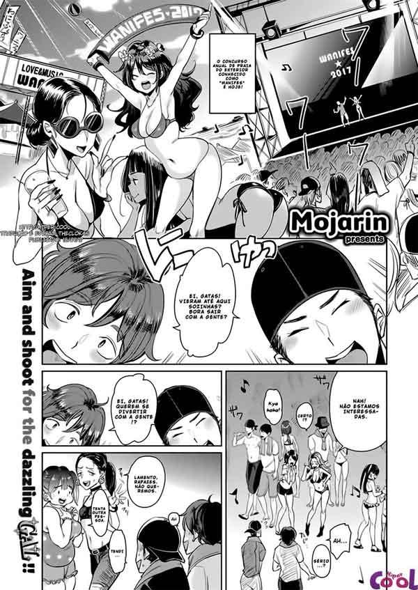 Clube da putaria sexo na praia Hentai
