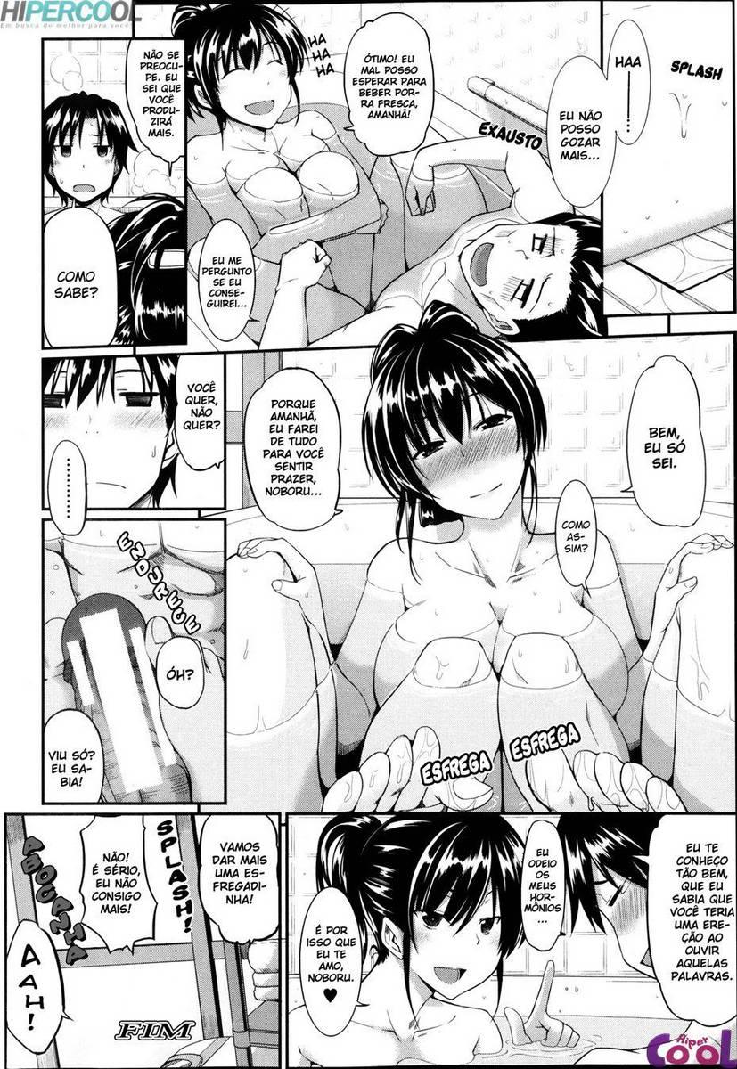 Hentai Chupeta matinal da irmã