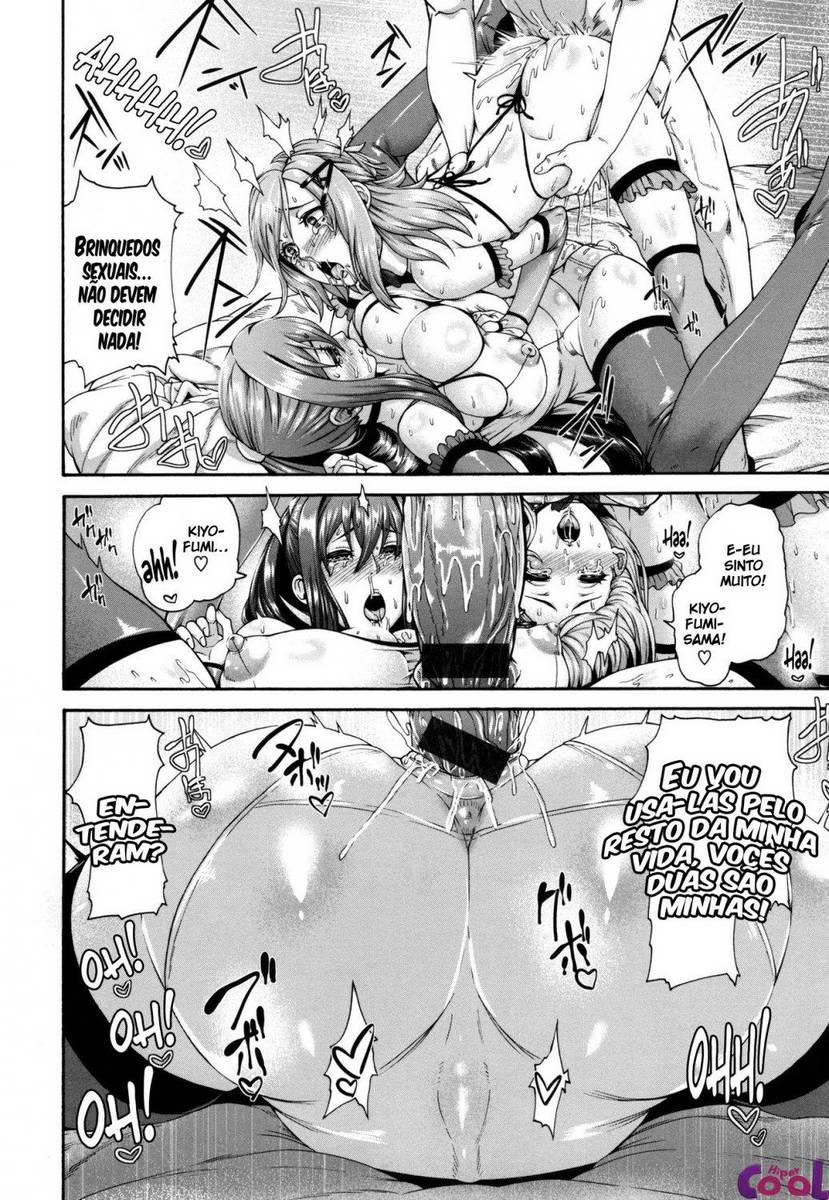 Hentai As escravas sexuais do Kiyofumi-Sama