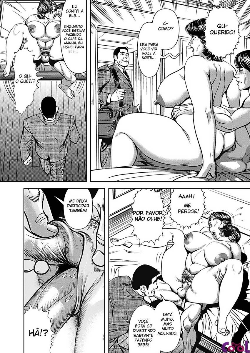 Hentai Uma tia gordinha louca pra ser recheada!