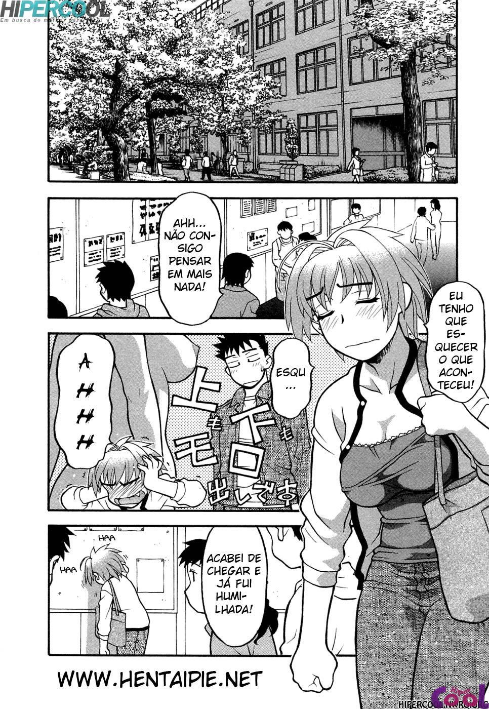 Hentai Encontros são sempre inesperados!