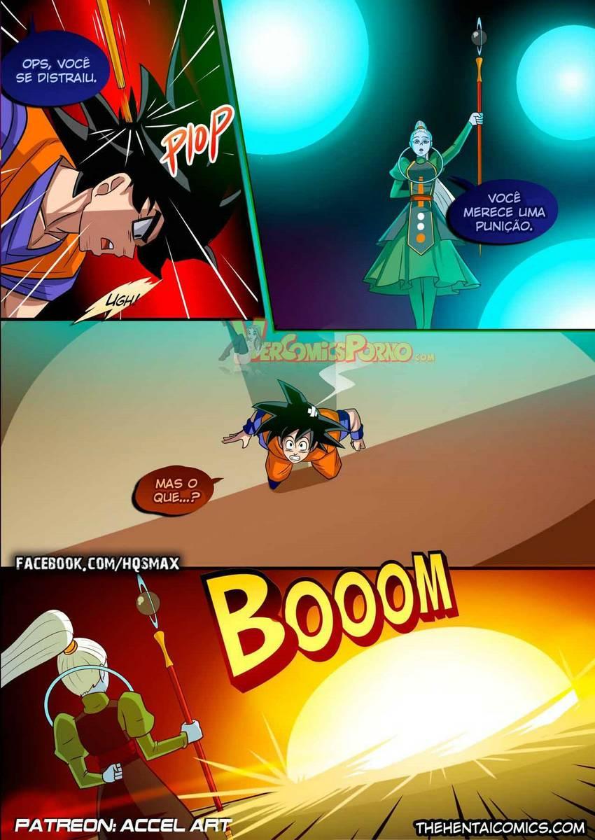 Dragon Ball Super hentai – Special Training GOKU