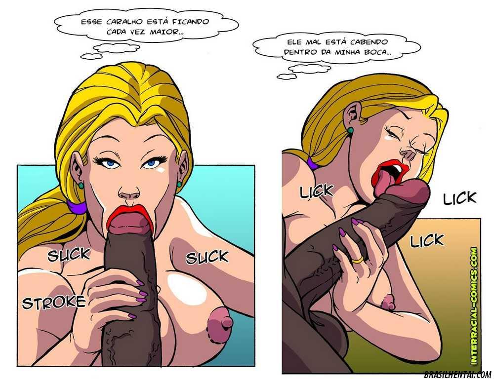 Esposas querem se divertir na rola negra