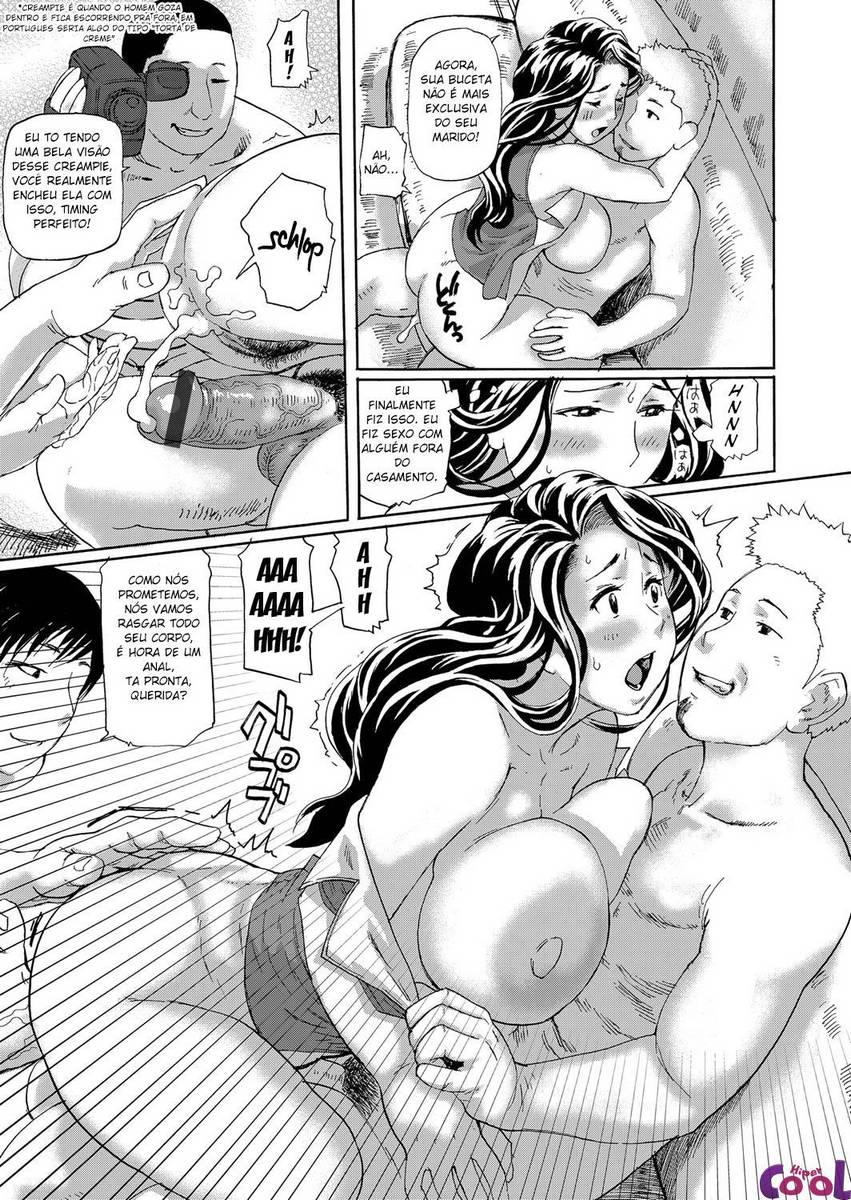 Esposa fazendo filme pornô