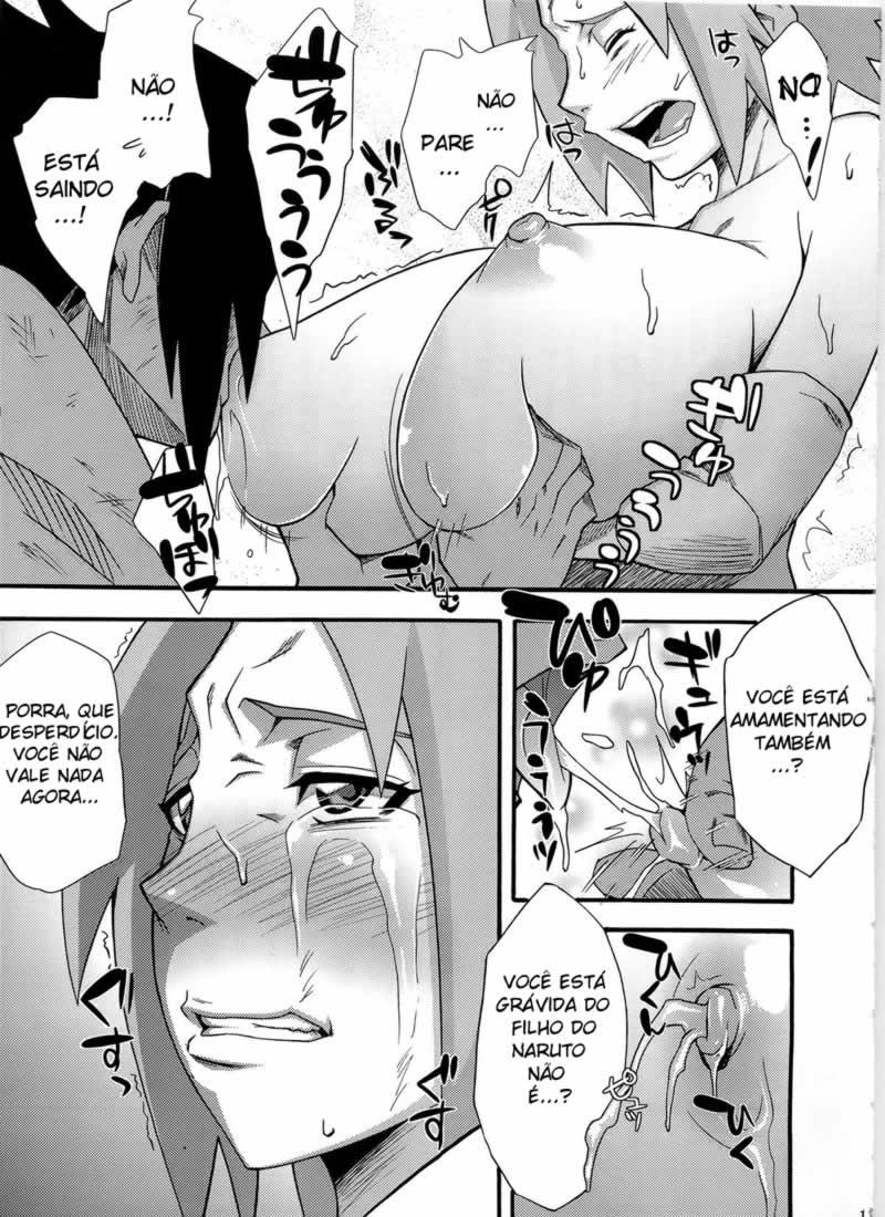 Naruto hentai, Sasuke fodendo sakura