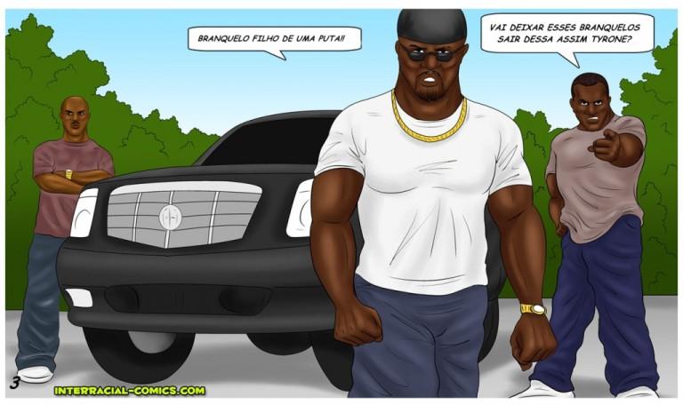 Pagando os danos, transando com os nigerianos