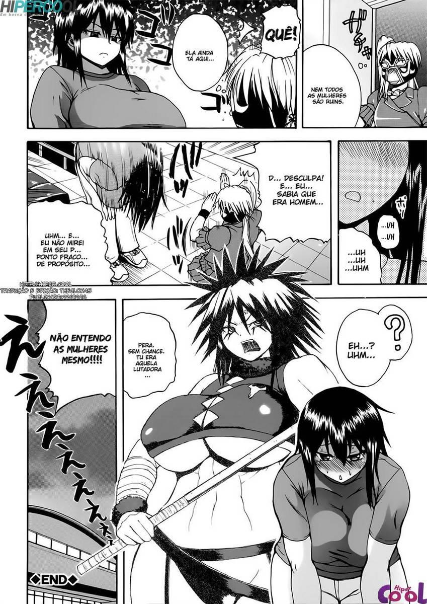 As lutadoras hentai