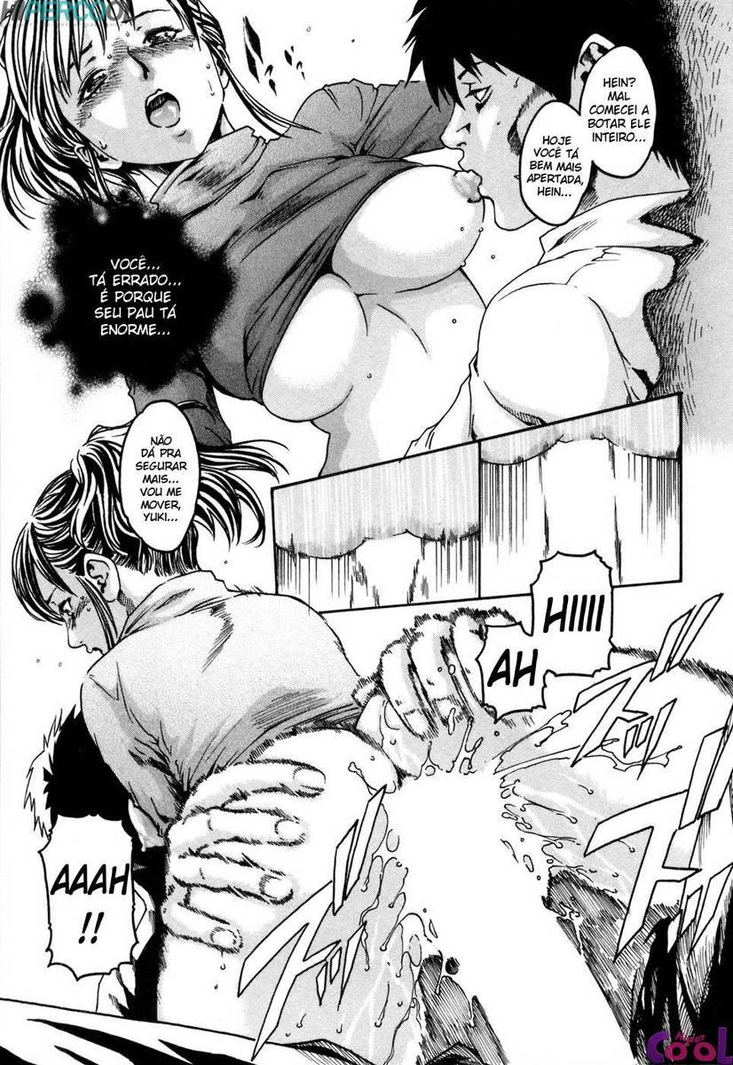 Parasita gigante no cu
