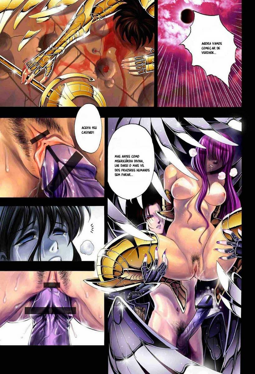 Cavaleiros do zodiaco hentai
